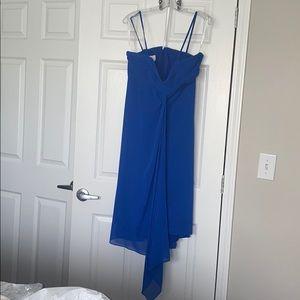 David's Bridal Chiffon cocktail attire dress
